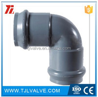 DN315 pvc elbow 90 bend pipe for fittings