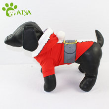 Free sample multi sizes dog christmas terry cashmere hoodie pet sweater clothes