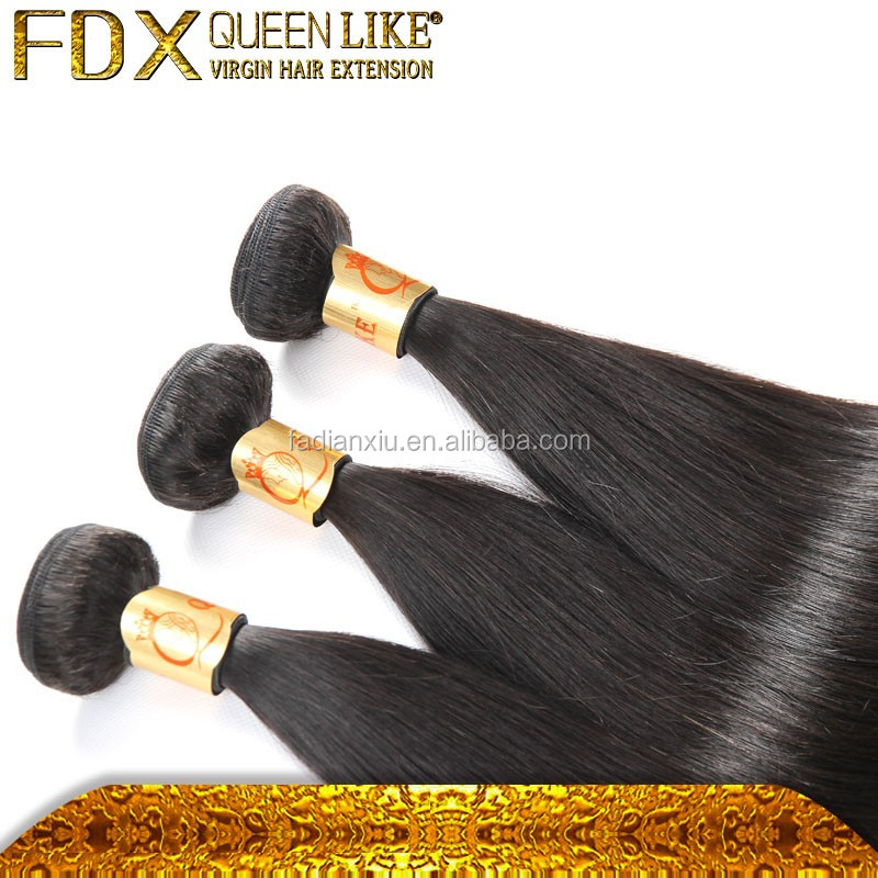 "10""-40"" Vietnamese 100% human hair weft long hair extensions straight hair full and <strong>thick</strong>"