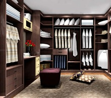Modern Home Funiture Wooden Bedroom Wardrobe