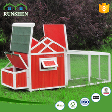 2017 New Wooden Chicken Coop Chiken House With large metal walk in chicken run