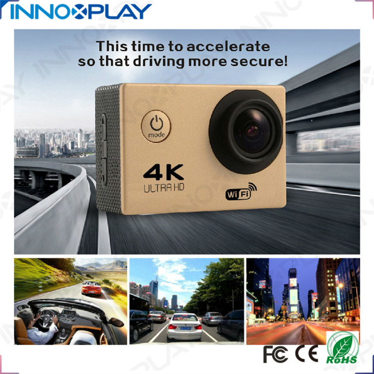 4k full hd 1080p Sports Camera Support PC camera/Mobile disk/Charging go pro camera bike waterproof 4K action sports camera