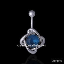 Industrial Piercing Jewelry Unique Designs Navel Rings Stick On Body Jewelry
