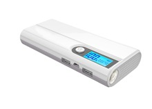 13000mAh Private model Power Bank With LCD screen