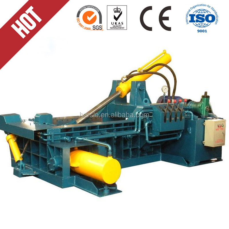 operate automatic packing machine/metal baling press/scrap metal baler machine for sale