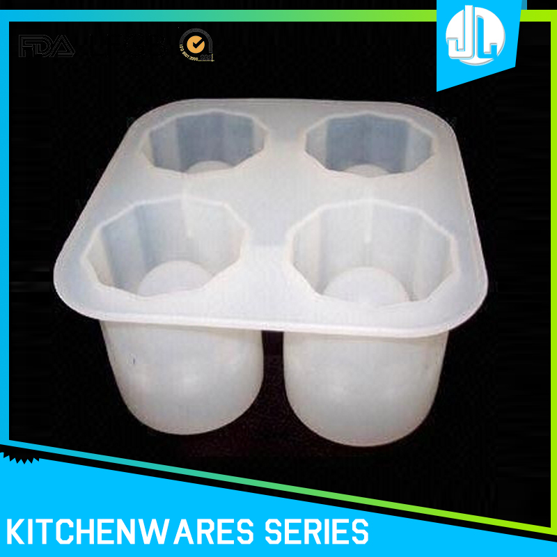 Home custom design cheap food grade silicone ice cube tray