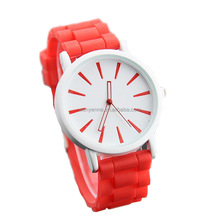 Hot sale New Fashion Silicone band Watch Jelly Quartz watches Wrist Watches