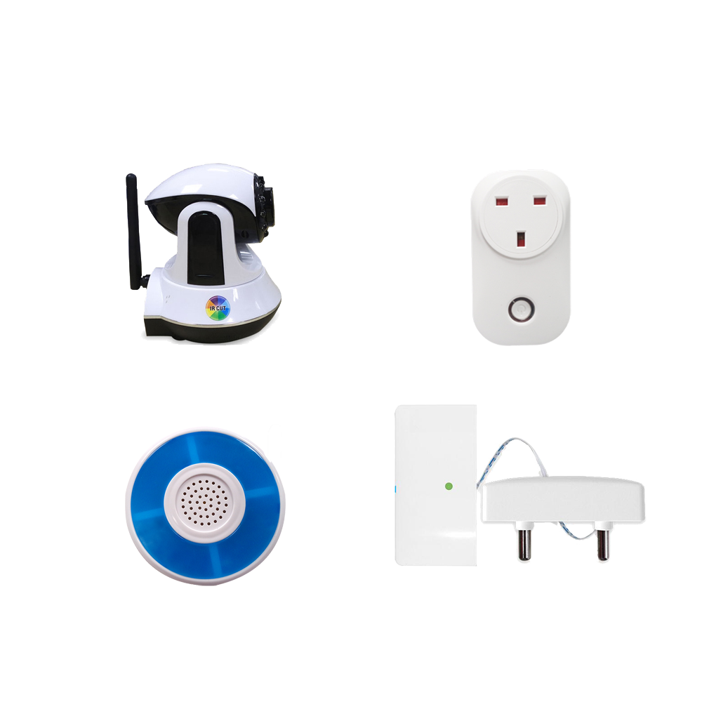 Popular WIFI+GSM/WIFI+3G Support 3G Video Call Remote Video <strong>Alarm</strong> system