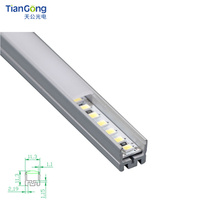 Good price super slim Anodized extrusion 6063 aluminum profile for led strip light