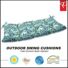 All weather patio garden outdoor swing chair cushion
