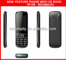 3G basic mobile phone features dual sim W19