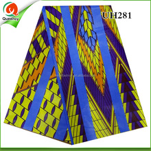 luxury and good quality wax fabric UH281 cheap price NEW SHOP