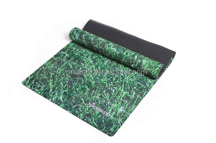 OEM factory price natural rubber yoga mat custom <strong>eco</strong> friendly