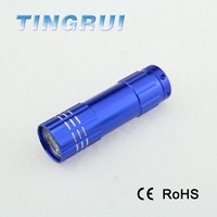Hot sell aluminium zoomable multi-function strong light manual dynamo flashlight