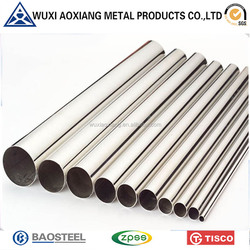 China Supplier High Quality Stainless Steel Pipe 201 For Motorcycle Tube Materials