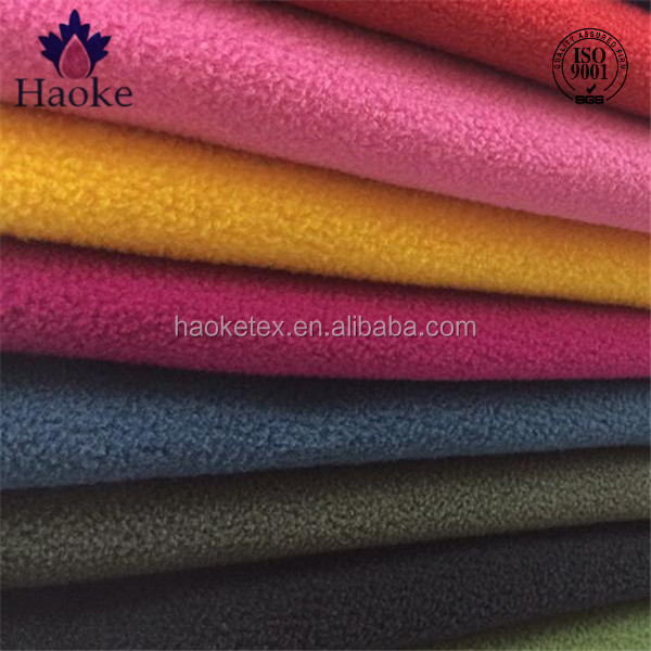 microfiber fleece sheets / the polar express fabric / 100% polyester microfiber baby blanket fleece