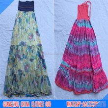 Summer women long dress second hand clothes USA style used clothes in bales hot sale in Germany