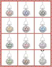 Silver Plated Flower Pendant Angel for Unborn Baby Mexico Bell Bola For Pregnant Women