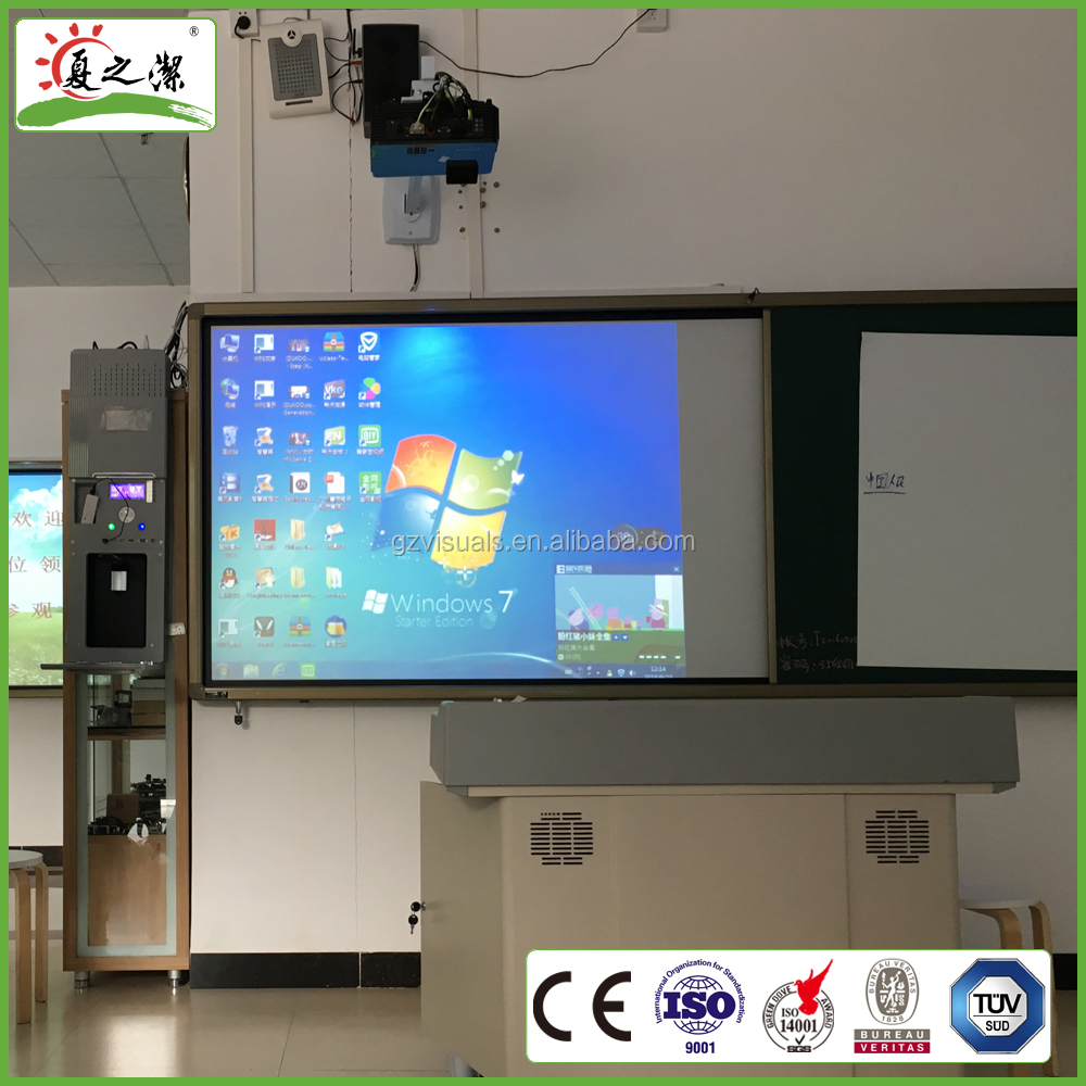 hot sale factory prices portable interactive whiteboard with projector for school