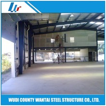 Industrial design steel structural steel frame workshop