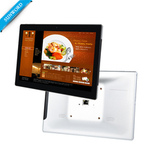 10.1'' Metal material wall mounted RJ45 POE Smart Tablet PC support <strong>Android</strong>