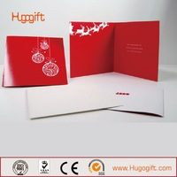New Style Top Sell Golden Wedding Cards