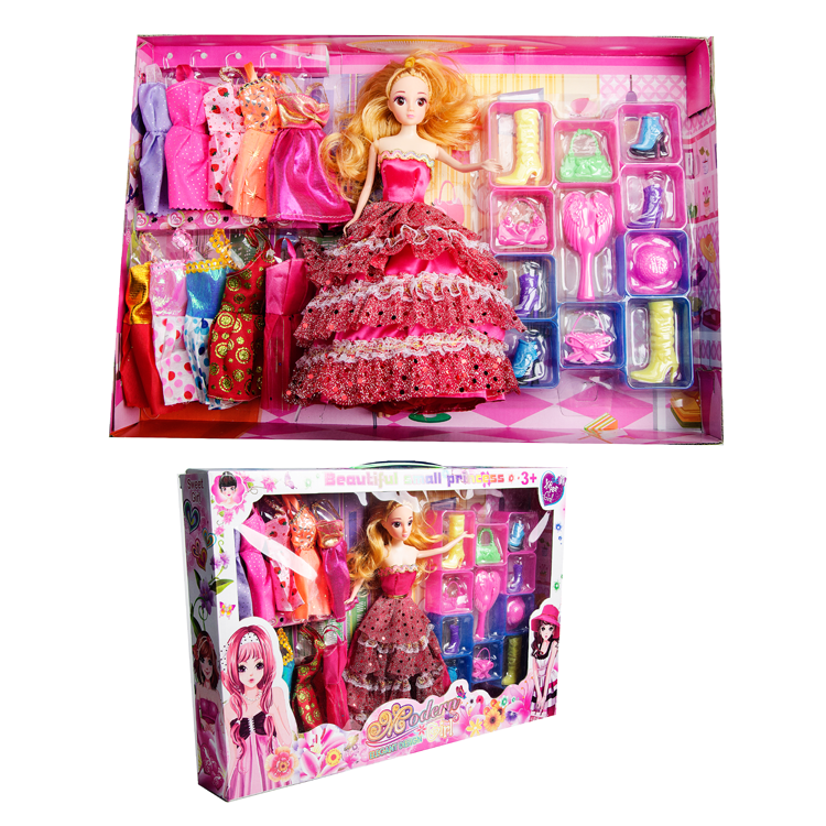 2016 Newest Best Selling 11.5 Inch Barbie Doll Toys
