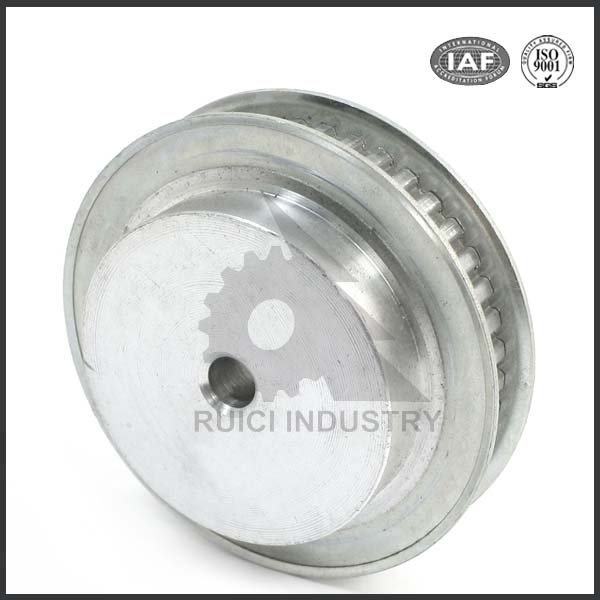 Galvanized aluminum casting types of sizes timing belt pulleys
