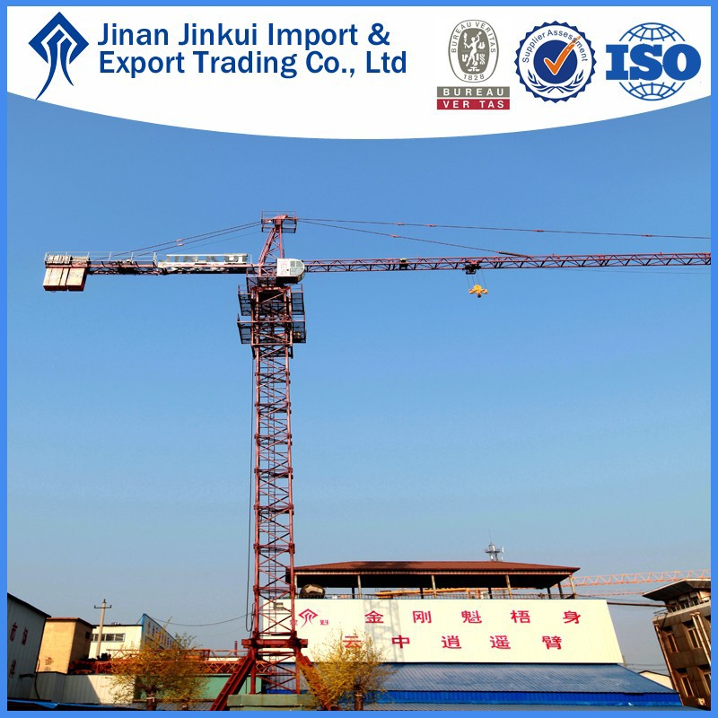 Hot sale QTZ5610 tower crane heavy equipment chinese tower crane company