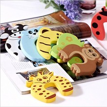 hot sale cute animal shape safety rubber car door stopper product