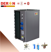 Deron domestic small good perfermance air source/solar swimming pool heat pump water heater 7.5kw(CE,heating or cooling)