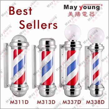Best seller Modern Hair salon equipment Barber shop sign Barber pole