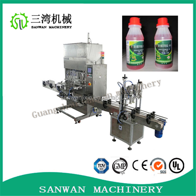 Automatic cosmetic filling and packing machine new structure filling equipment