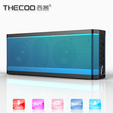 Bluetoth 4.0 wireless speaker with mic Thecoo 10w output mini super bass sport loud speaker bluetooth
