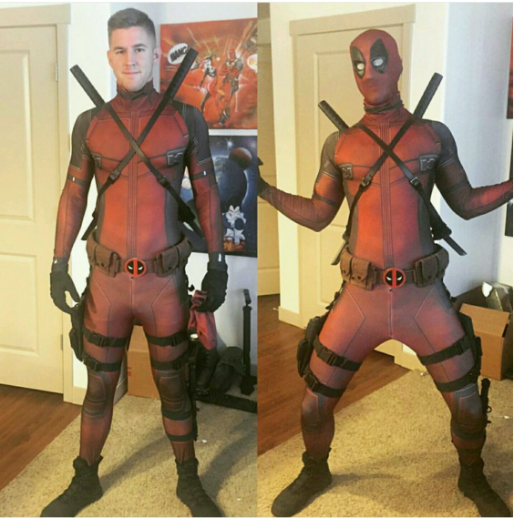 2016 hot movie character Marvel Hero cosplay deadpool