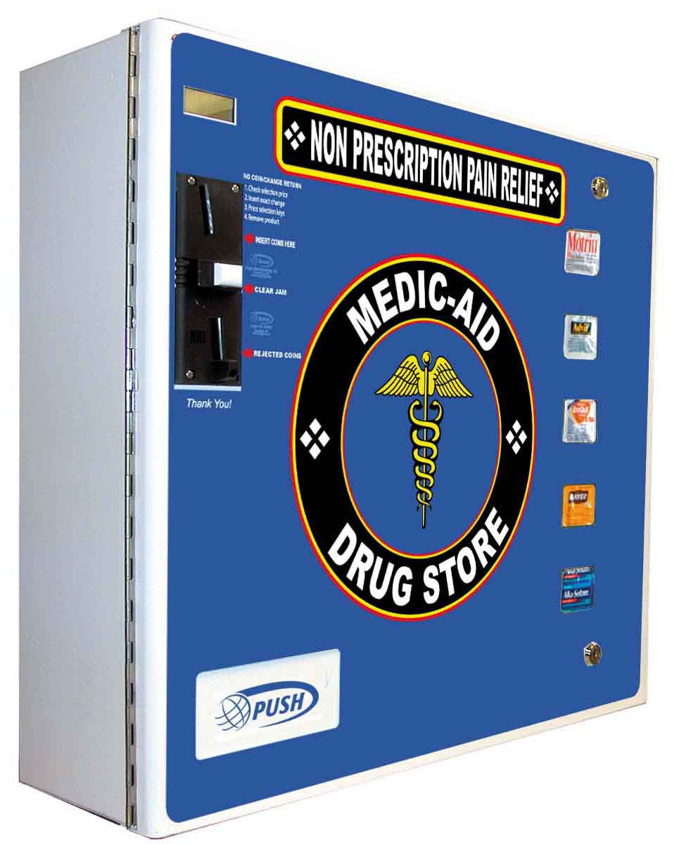Wall Mount Otc Medicine Vending Machine