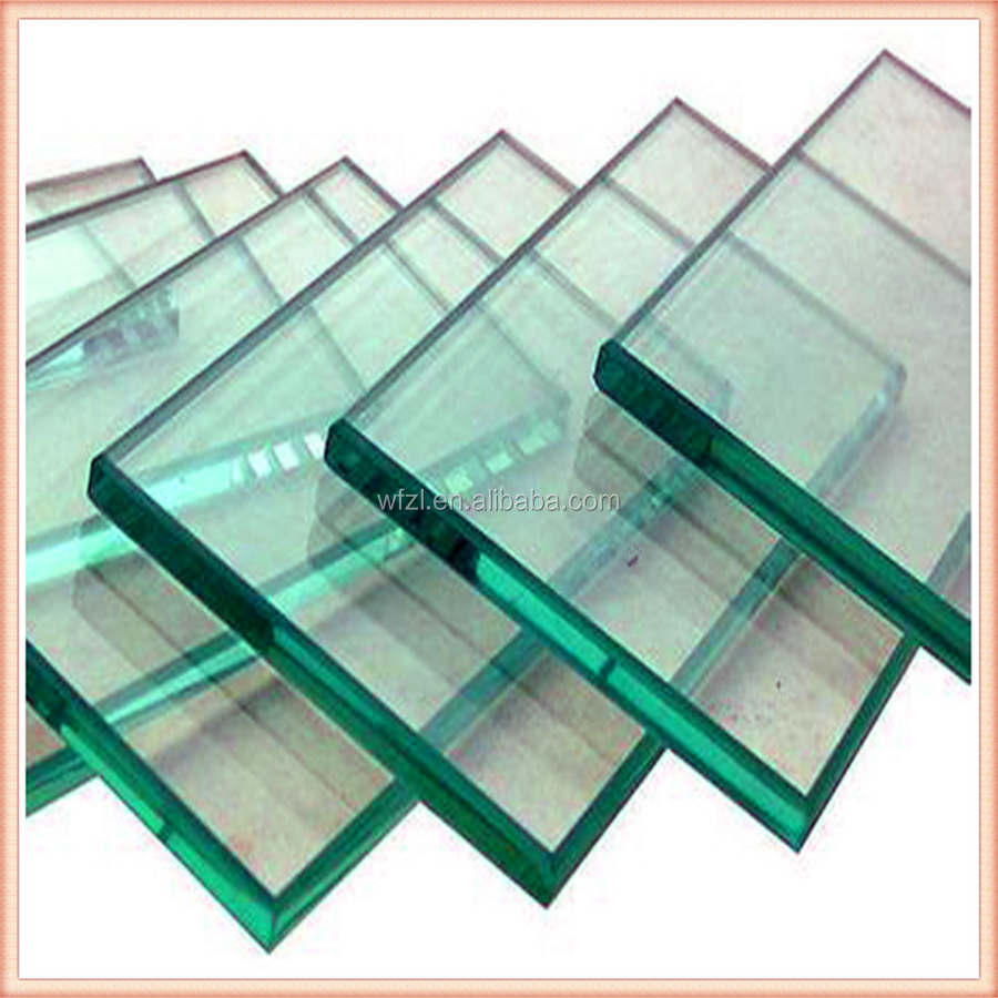 Best price safety glass,window glasss, 12mm clear tempered glass