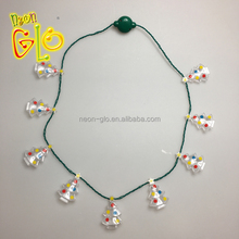 Party Favor Light Up Jumbo Christmas Tree LED Necklace