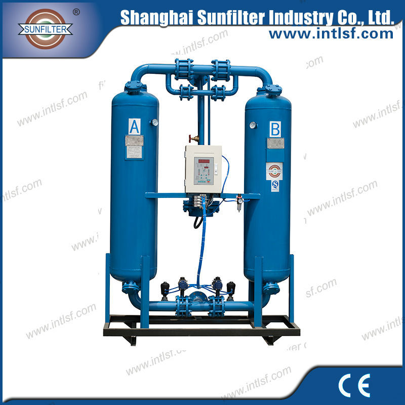 Air Compressor Portable Used Heatless Purge Desiccant Air Dryer