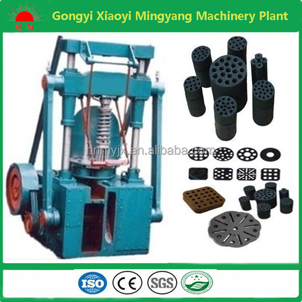 Hot selling high density charcoal honeycomb briquette machine 008618937187735