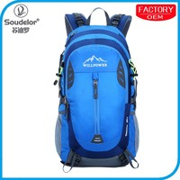 Outdoor Master Hiking Backpack 38L with Waterproof Sport Backpack with Rian Cover and External frame