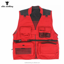 Cheap Custom Good Quality Outdoor Clothing Fishing Vest