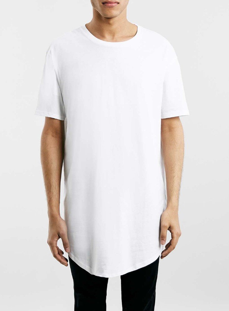 white oversized longline men short sleeve crew neck t shirt buy men t shirt longline t shirt. Black Bedroom Furniture Sets. Home Design Ideas