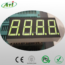 0.39 inch led display yellow green color, 7 segment led number