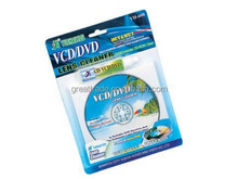 cheapest factory supply cd lens cleaner with two bruhes