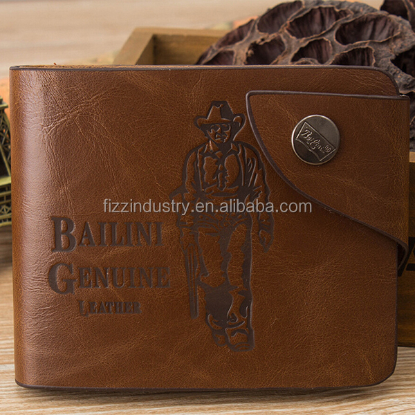Best selling genuine leather wallets for mens