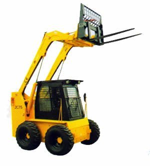attachment of JC skid steer loader: Fork