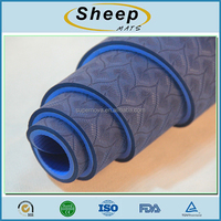 Factory direct sale waterproof tpe anti slip exercise cheap yoga mat