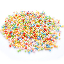 Colorful Styrofoam Balls Mini Craft Foam Balls Polystyrene Beads for DIY Party Decoration Kid's Creative Craft