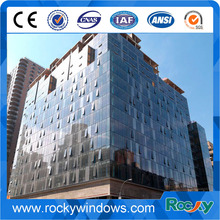 Moderal style Aluminum Structural Glass Curtain Walls